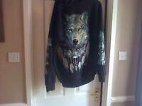 zipped hoody mens boughtxl post inc never worn
