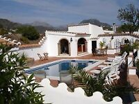 *** Reduced Price **** Rural 5 bed Villa in Competa, Spain ** 22nd - 27th July 2018 / 5 nights **