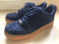Ladies NIKE suede shoes