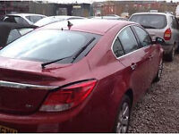 VAUXHALL INSIGNIA TAILGATE/BOOT IN RED/BURG 08 - 11 USED INC GLASS
