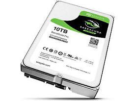 SEAGATE 10TB BarraCuda Pro 3.5 SATA III 7200rpm HDD Hard Drive ST10000DM0004