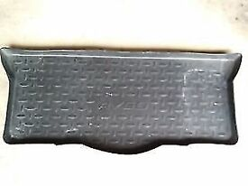 genuine toyota aygo tray luggage boot liner