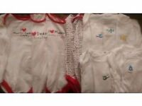 12-18 month long sleeved vests (16 Mothercare/tu)