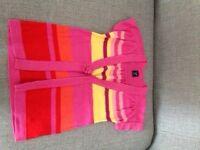 Gap striped cardigan age 2
