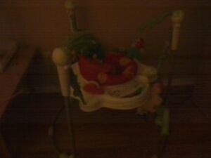 jumper, pack and play with built in bassinet , bouncy chairs etc