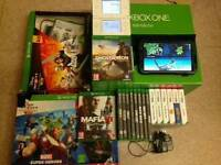 Xbox one 500gb plus 12 games,galaxy tab 3,ds lite with 6 games ect for sale