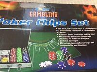 Poker set 300 piece £10