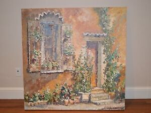 Marjolyn van der Hart - Large Original Oil Painting