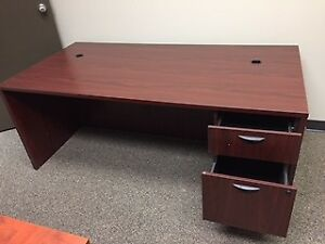 Office Furniture - Used Desks, Chairs,Rug, Shelving, table
