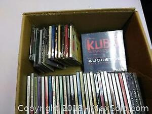 CD's Lot Pop and Classical + Movie