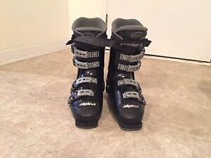 ski boots size8 mens gray