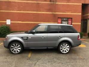 2013 Land Rover Range Rover SUV with certification