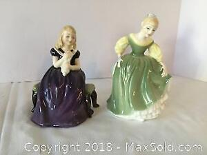 Royal Doulton Figurines 4 A