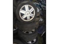 RENAULT 16 INCH ALLOY WHEELS 205/55 R16