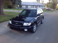 1998 Forester 250hp turbo 59800 km (very clean