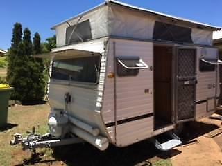 Caravan - Pop Top -Compact easy to two.