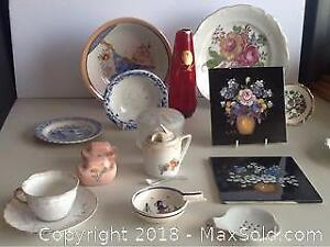 Lot Vintage And Antique Fine China And More
