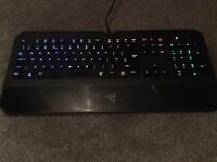 Razer DeathStalker Chroma Gaming Keyboard With Box