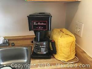 Coffee maker and Toaster A