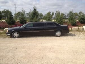 2001 Limo Cadillac DeVille 8 Seater 6 Door