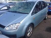 2005 FORD FOCUS CMAX 2l PETROL - BREAKING FOR PARTS