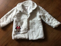 2 GIRLS WINTER JACKETS 2-3 AND 3-4 YEARS