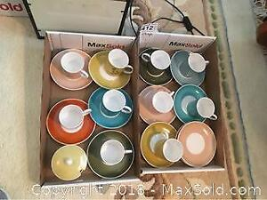 Demitasse Cups And Saucers A