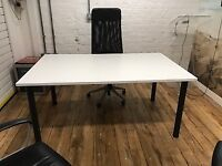 Meeting Room tables & Six chairs