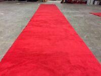 Vente  tapis rouge , mariage ouverture officiel ,kiosque