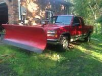 1995 gmc 1500 pickup with 7 1/2 ft plow