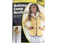 fancy dress Hi de Hi outfit with jacket and skirt. Size L. Worn Once.
