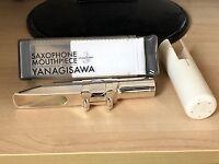 Yanagisawa Metal Mouthpiece No.6 for Baritone Saxophone. Hardly used.