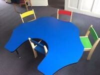 Adjustable Height Table (ideal for schools/nurseries/playgroups)