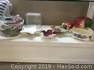 Cookie Jars Faux Fruit And More A