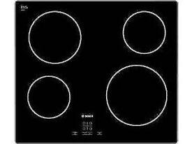 COOKE & LEWIS CLCDZ-77 4 BURNER BLACK GLASS ELECTRIC CERAMIC HOB