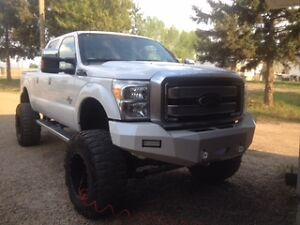 ford f250-350  -2008-2010 solid steel bumper