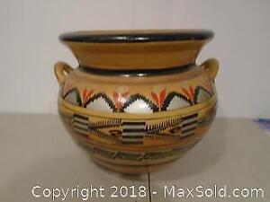 Large Mexican Ceramic Pot