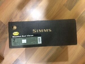 Simms Wading Boots size 7