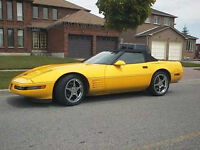 Fast and rare 1994 Corvette Supercharged Convertible