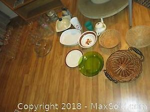Dishes And Glassware - A