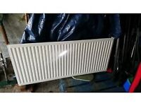 Single panel radiator (1400mm x 600mm x 55mm - used, still in good condition