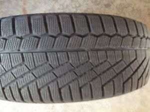 Continental Extreme winter contact tires w/ steel rims Kitchener / Waterloo Kitchener Area image 1