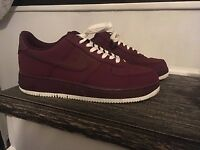 Mens Nike Air force 1 Red shoes size 8