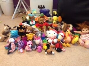 Vintage Beanie Babies - lot of 42 - $1 and up