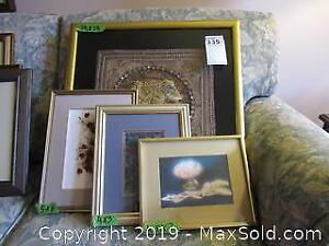 Print, Photo, and Framed Textiles. A