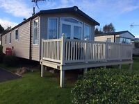 Great Value 3 Bedroom static Caravan near Tenby, central heating, ensuite toilet