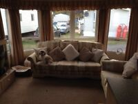 2 bedroom caravan for hire at Silver Sands, Lossiemouth