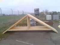 Roof Trusses For Garage, Shed, House, Store For Sale