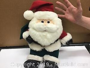retro Santa Clause plush doll from the TV special