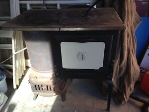 Cooktop Wood Stove - The Western Limited